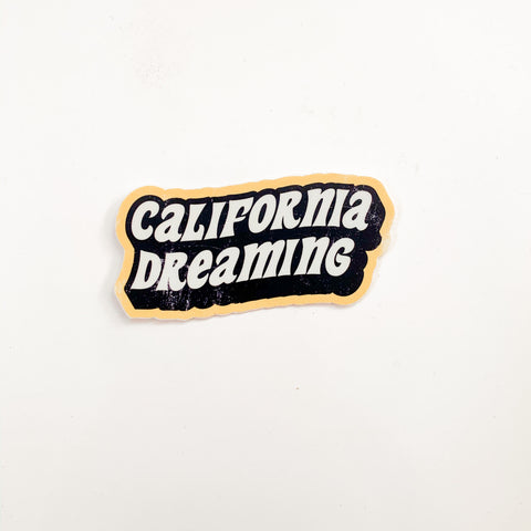 """CALIFORNIA DREAMING"" Sticker"