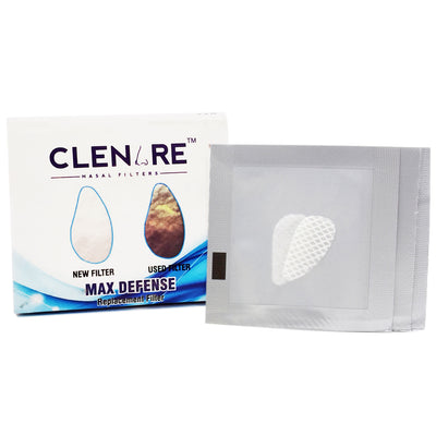 CLENARE REPLACEMENT FILTER MAX DEFENSE (PACK OF 3)