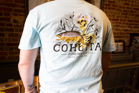 CFC Brown Trout Magnolia Tee