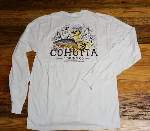 CFC Brown Trout Magnolia L/S Tee