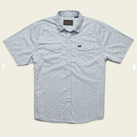 Howler Bros H Bar B Snapshirt - Little Agave : Ice Blue