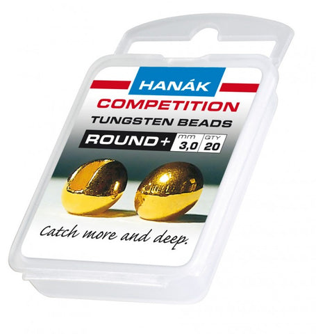 Hanak Slotted Tungsten Beads 20 Pack