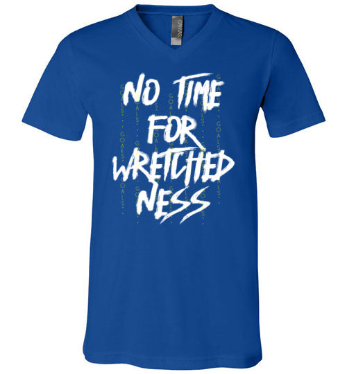 No Time For Wretchedness Boss Life Unisex Jersey - skyrockettees