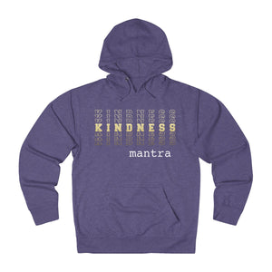Kindness Mantra Unisex French Terry Hoodie - skyrockettees
