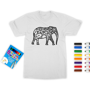 Colour Me Beautiful! Colouring T-Shirt - skyrockettees