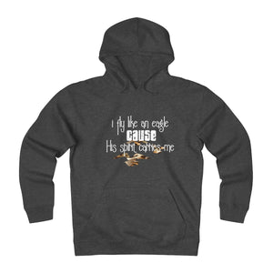 Fly Like An Eagle, Camo Eagles Unisex Heavyweight Fleece Hoodie, 2/2 - skyrockettees