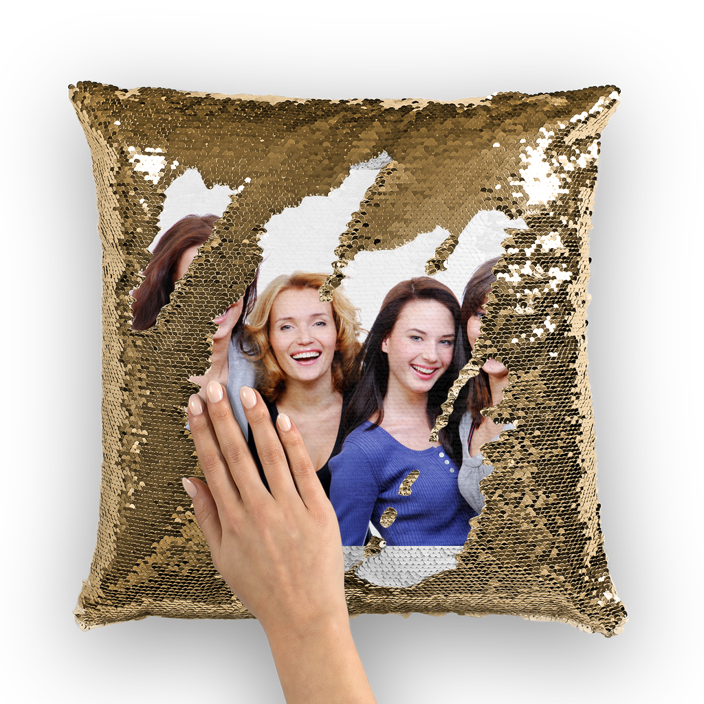 Sequin Cushion Cover Sequin Cushion Cover - skyrockettees