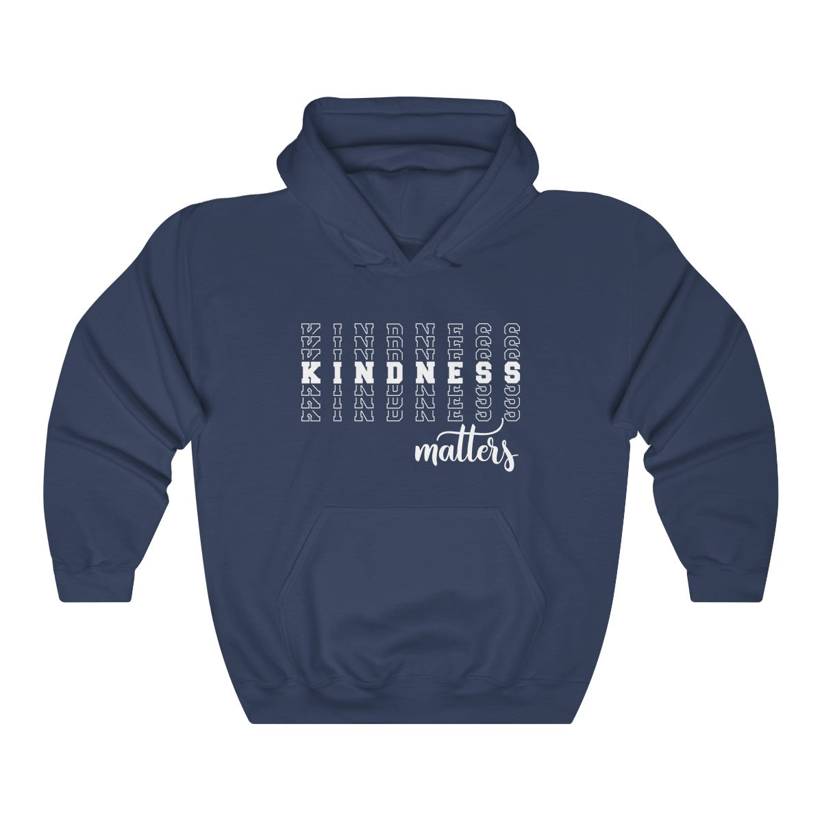 Kindness Matters Unisex Heavy Blend™ Hooded Sweatshirt - skyrockettees