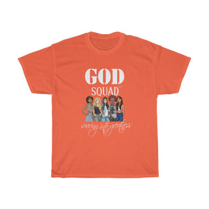 God Squad Unisex Heavy Cotton Tee, M-5XL - skyrockettees
