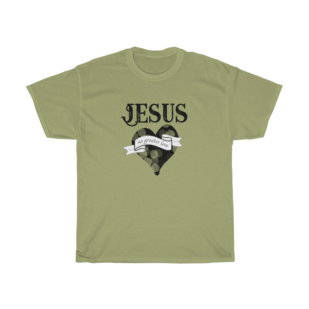 Jesus, No Ordinary Love! Unisex Heavy Cotton Tee S to 5XL - skyrockettees