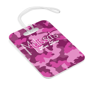 Pink Camo Personalized Bag AOP Tag - skyrockettees