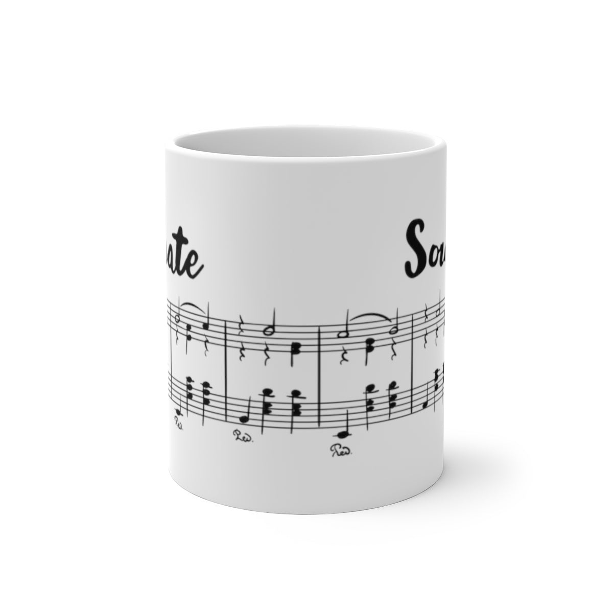 Personalized Color Changing Mug, Sonate, Sound - skyrockettees
