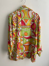 L Open Silk Shirt