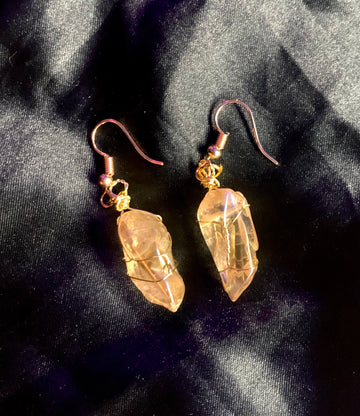 citrine dream earring