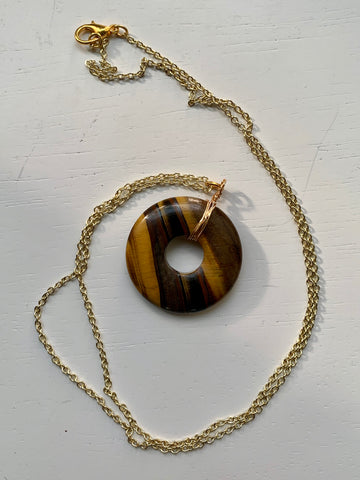 tigers eye set