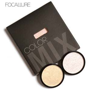 Iluminador Focallure Shimmer Highlighter 5 cores