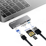 4 in 1  - Multiport USB-C Hub for Macbook Pro