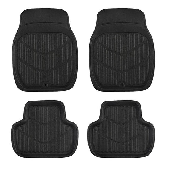 ridged rubber floor mats universal