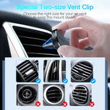 Magnetic phone holder for iPhone / Android smartphones air vent phone holder