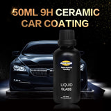 9H ceramic paint nano coating hydrophobic liquid glass polish 50ml