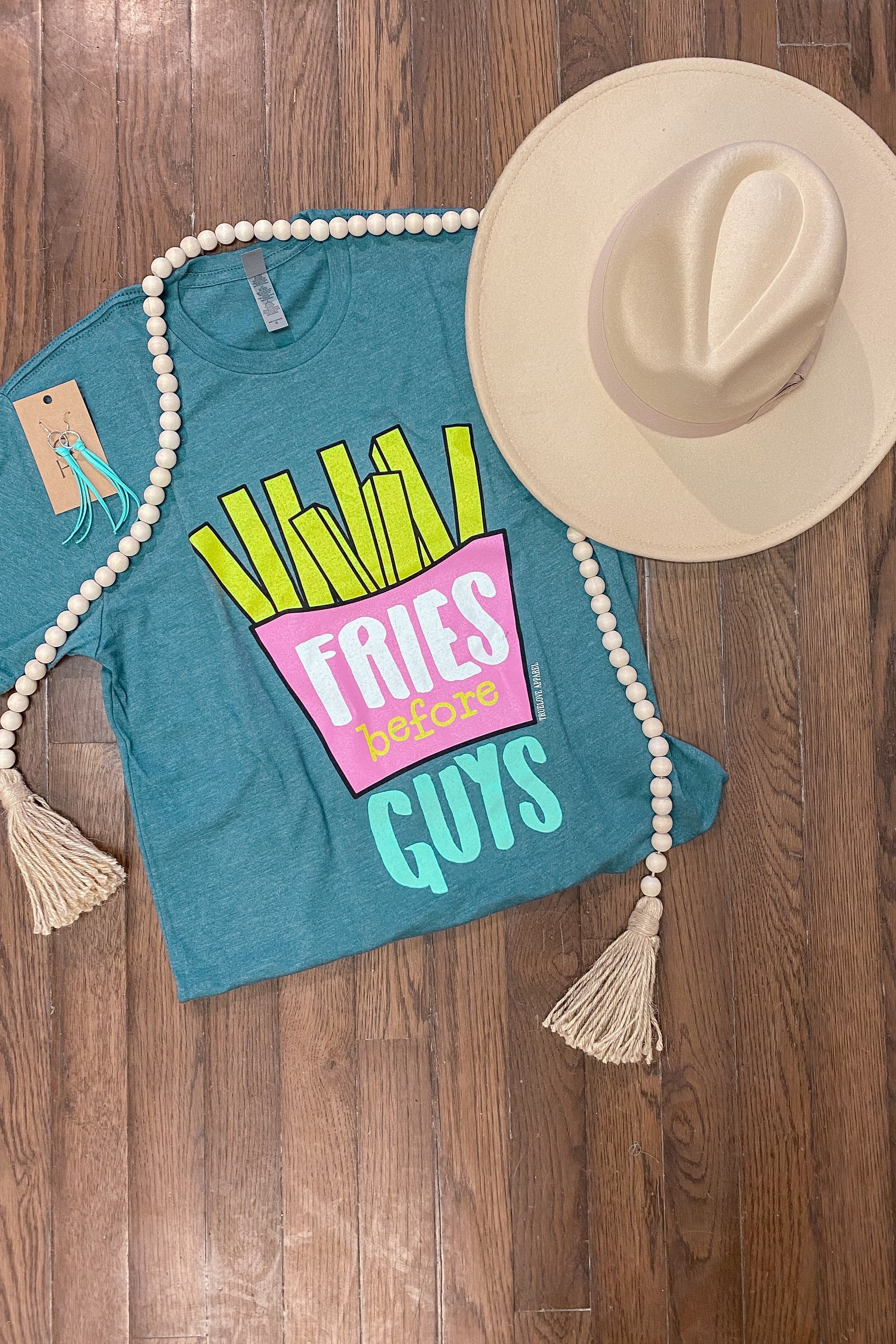 Fries Before Guys Graphic Tee
