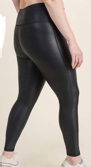 Ready Or Not Foil Plus Size Legging