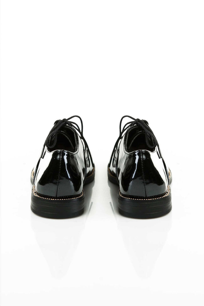 Zapatos Oxford en Charol