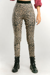 Pantalón legging animal print