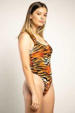 Body estampado tigre