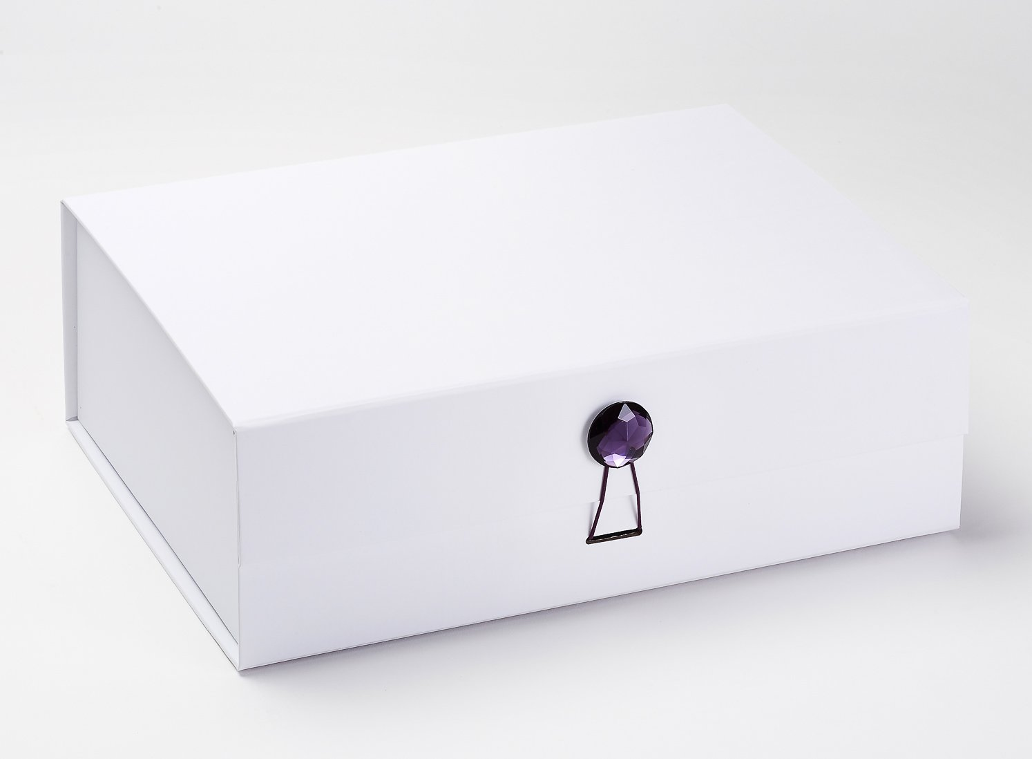 The February birthstone, amethyst, is said to strengthen relationships and give its wearer courage