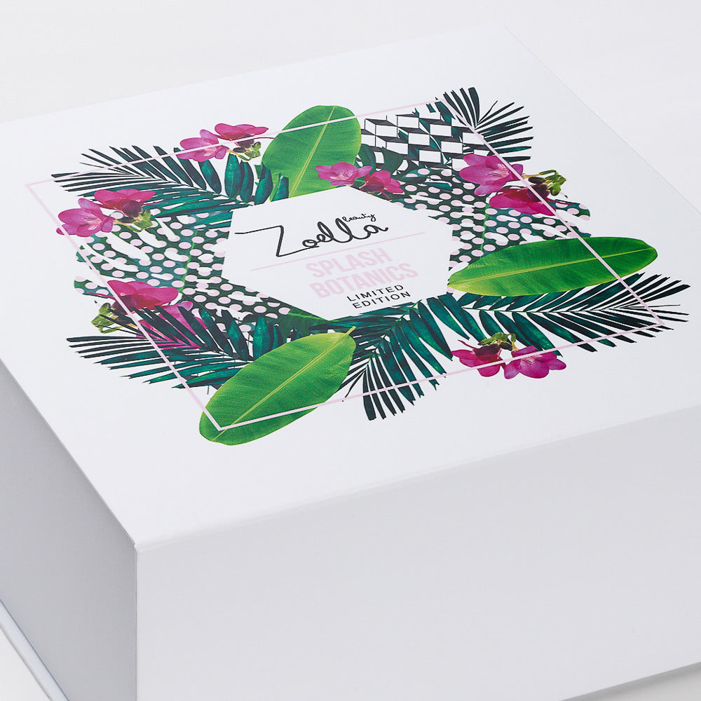 CMYK Print onto White Folding Gift Box from Foldabox