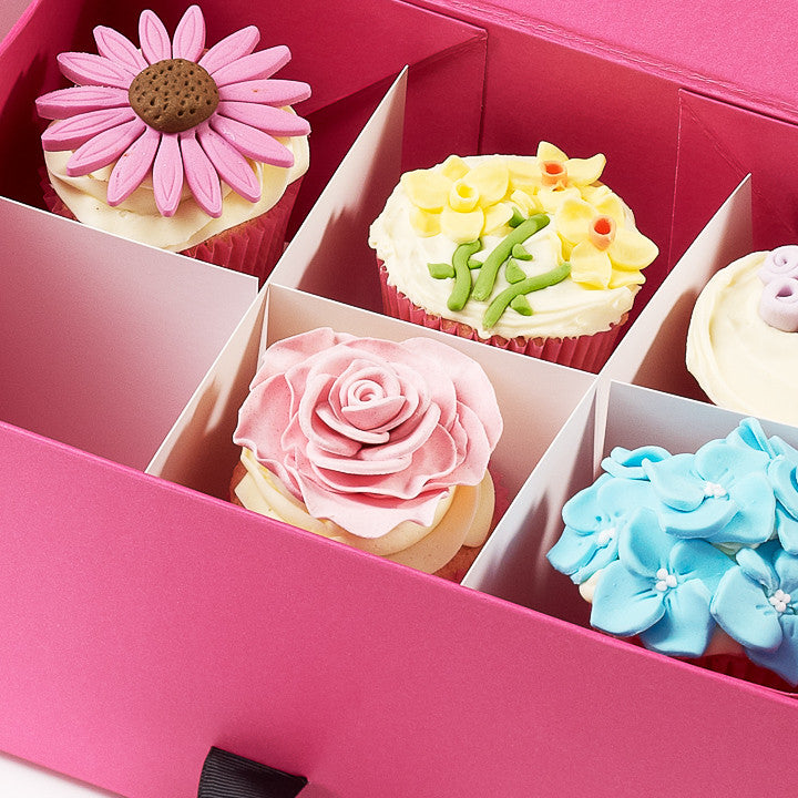 Foldabox UK Slotted and Interlocked Cupcake iNserts for Gift Boxes