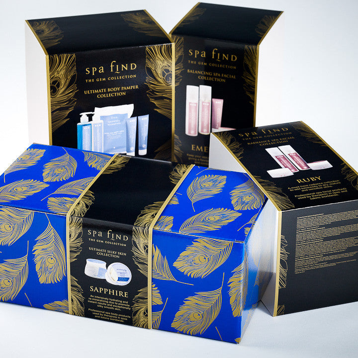 Foldabox UK Custom Printed Corrugated Gift Box with FBB CMYK Printed Bellyband