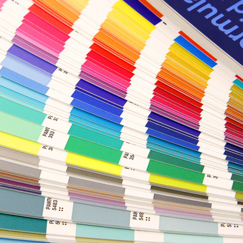 Pantone Matched Print Colors