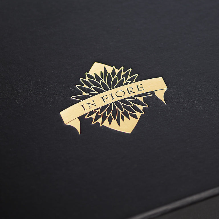 Gold Foil on Black
