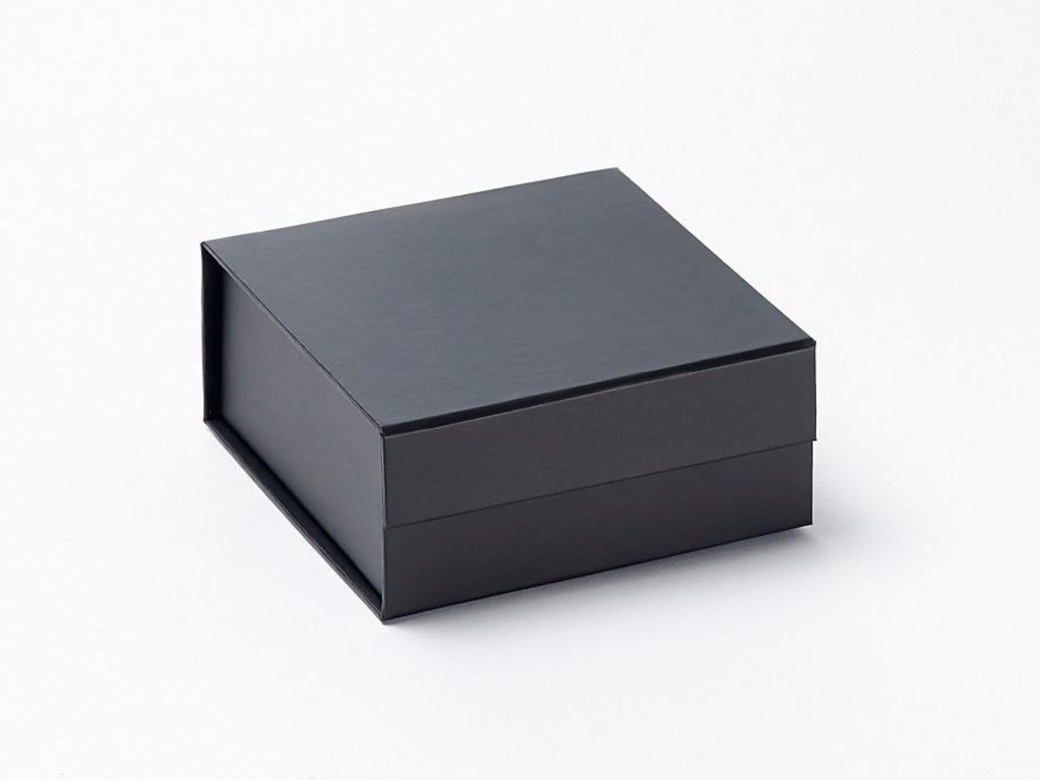 Small Black Gift Box without ribbon from Foldabox UK