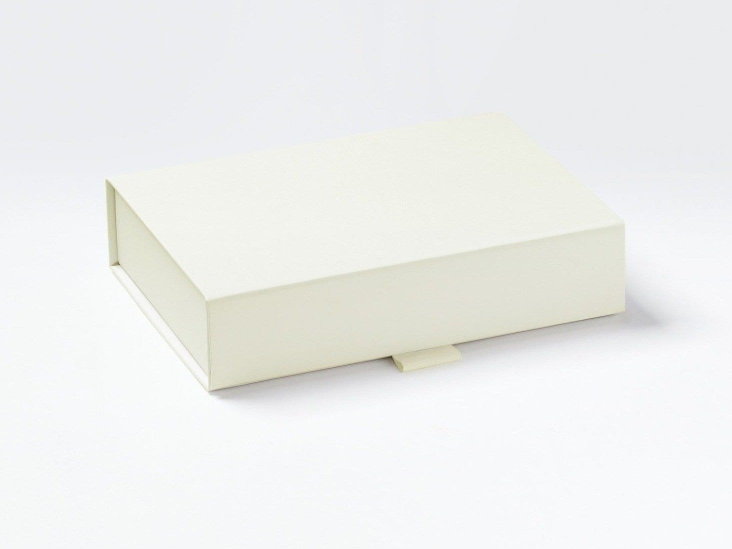 Ivory A6 Shallow Gift Box Assembled