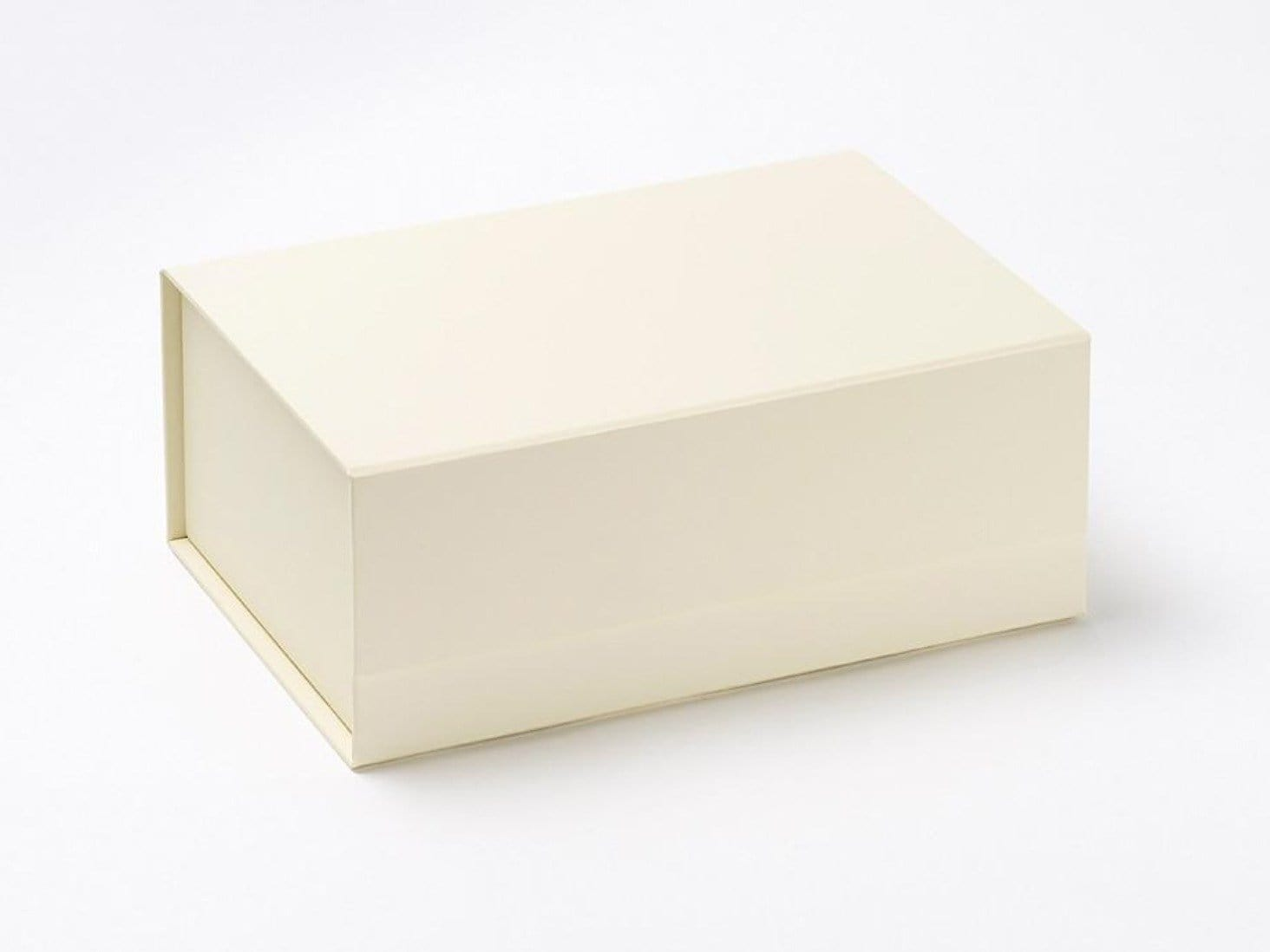 Sample Ivory A5 Deep Gift Box without ribbon from Foldabox UK