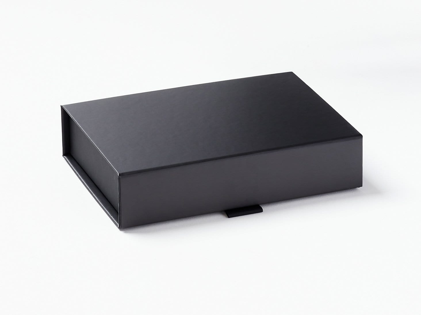 Black A6 Shallow Gift Box Asssembled