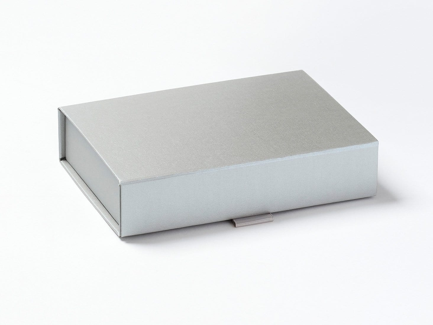 Silver A6 Shallow Gift Box Assembled