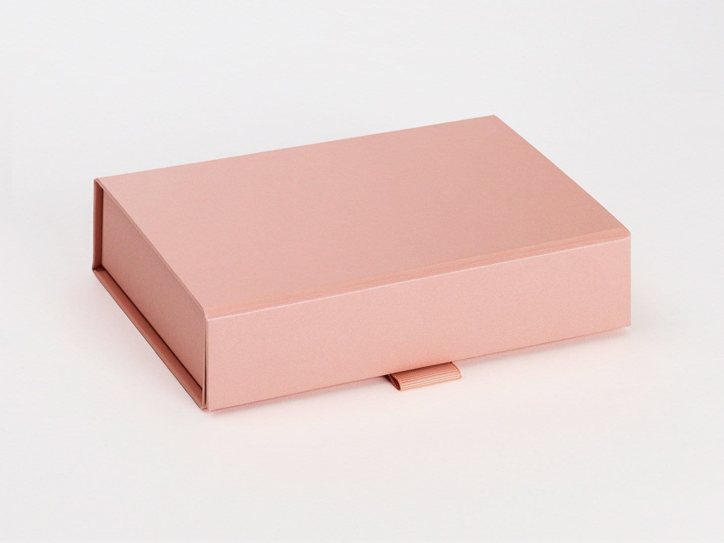 Rose Gold A6 Shallow Gift Box Sample  Assembled