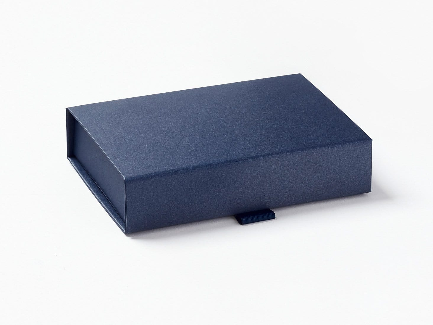 Navy Blue A6 Shallow Gift Box Assembled