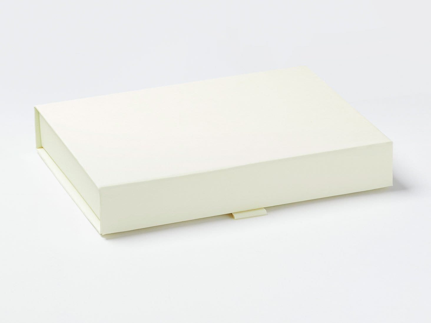 Ivory A5 Shallow Gift Box Assembled