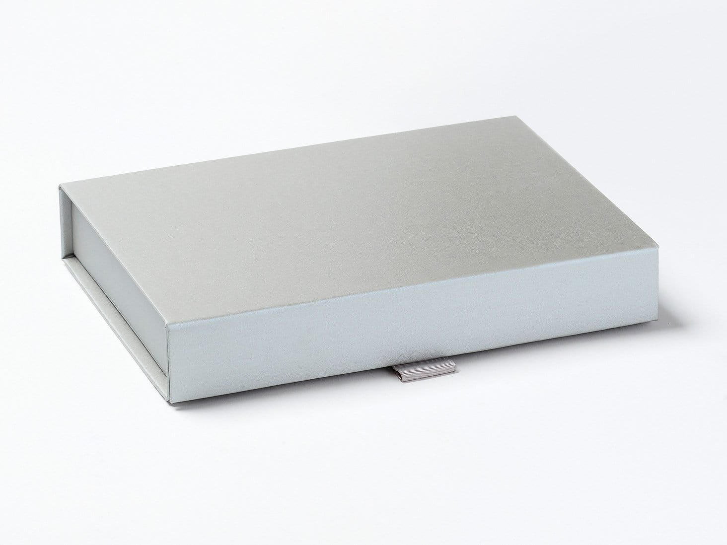 Silver A5 Shallow Gift Box Assembled