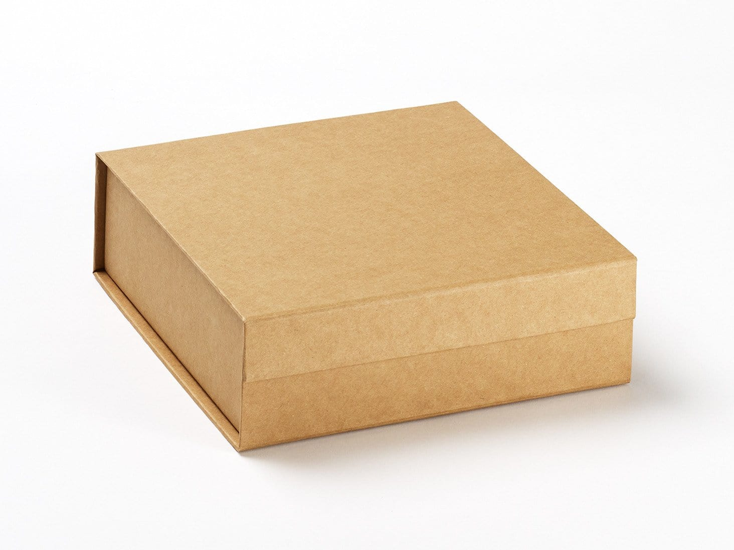 Natural Kraft Medium Folding Gift Box with magnetic closure from Foldabox