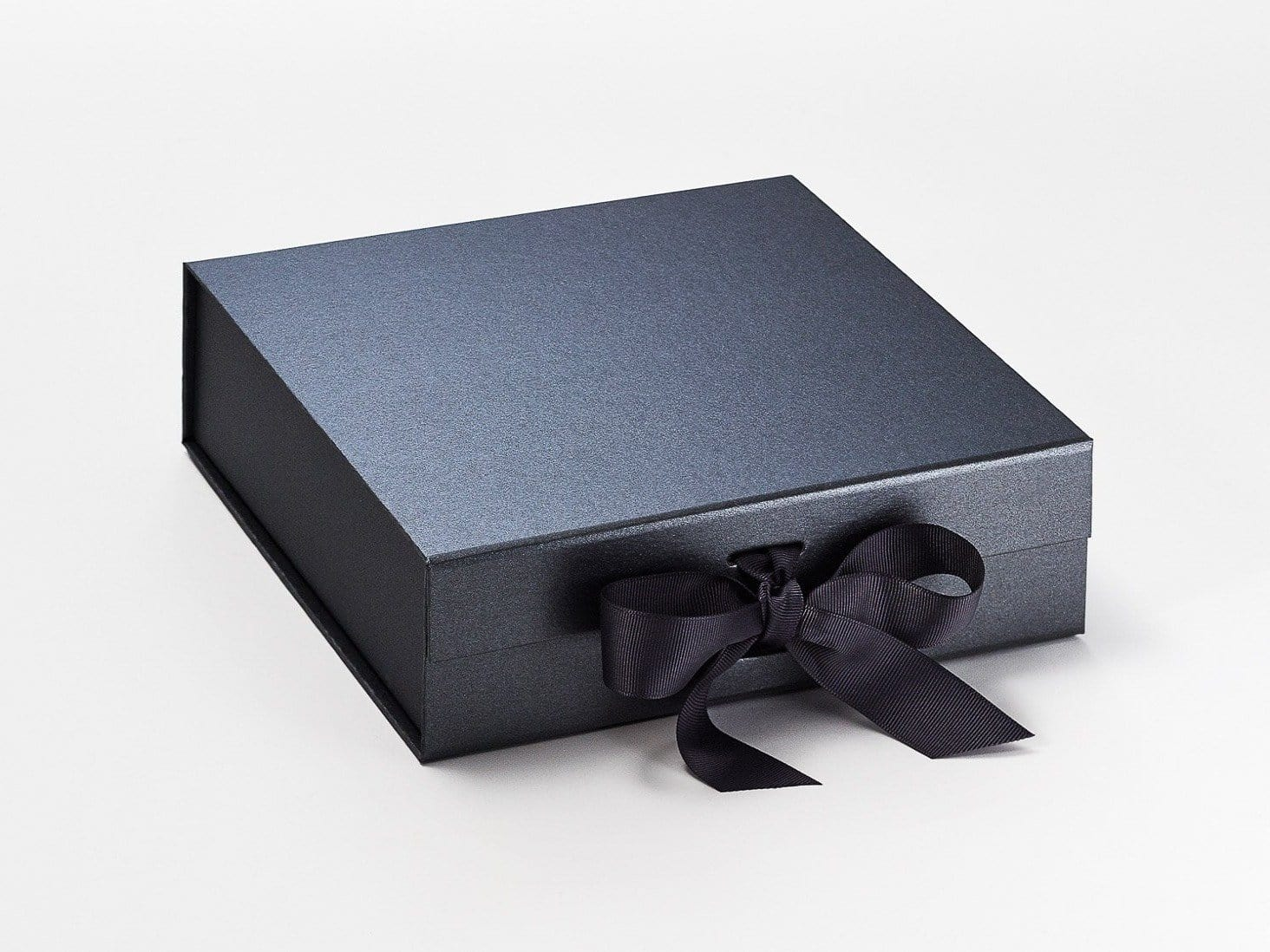Medium Pewter Luxury Folding Gift Box Sample