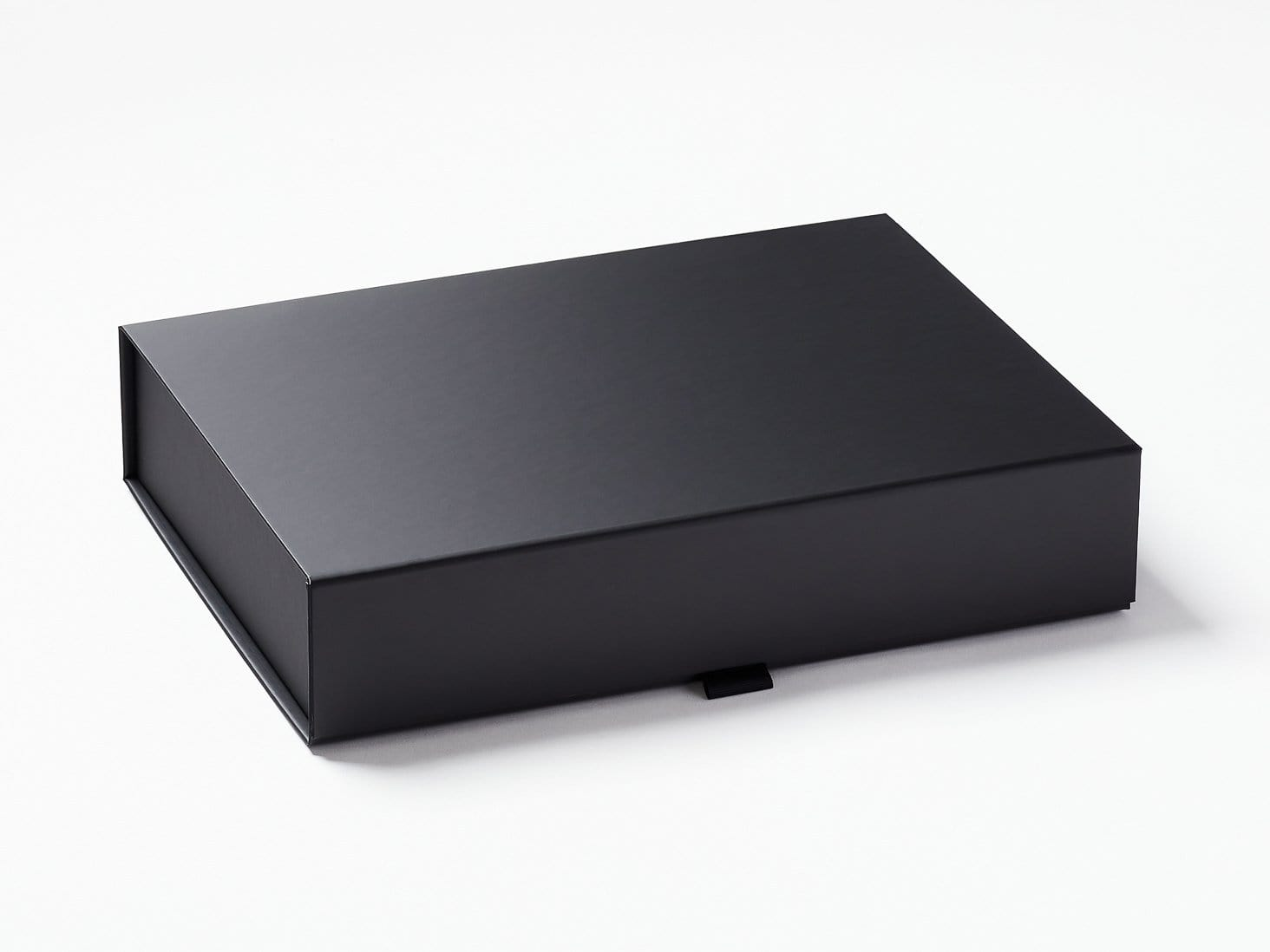 Black A4 Shallow Luxury Gift Box