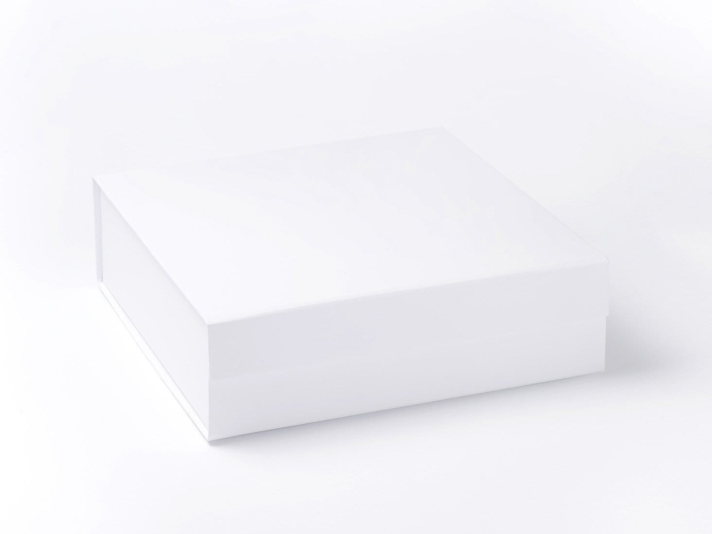 White Large Folding Luxury Gift Hamper Box Sample without ribbon