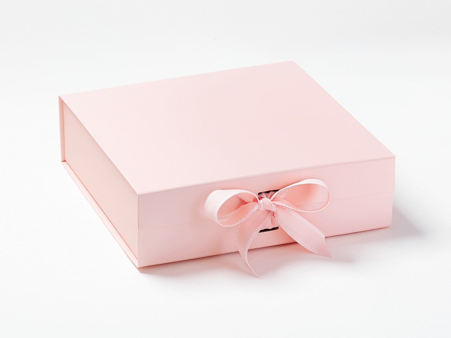 Pale Pink Large Gift Box with Changeable Ribbon