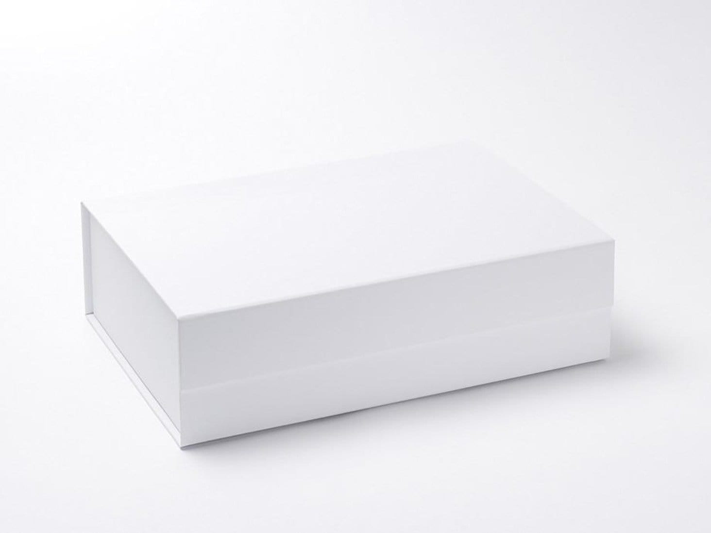 White A4 Deep Gift Box Sample without ribbon
